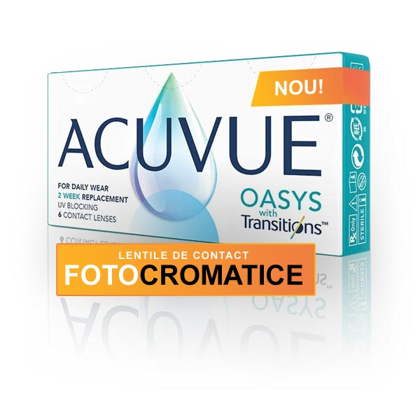 Acuvue Oasys with Transitions (6 buc)