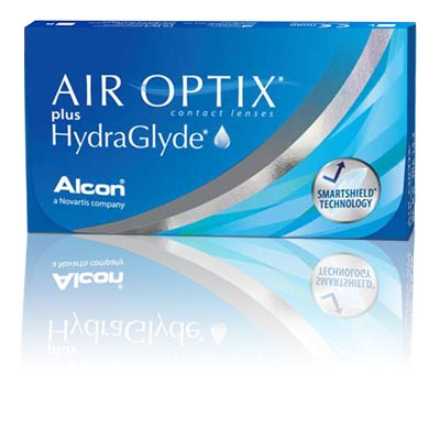 AIR OPTIX Plus HydraGlyde® (6 buc)